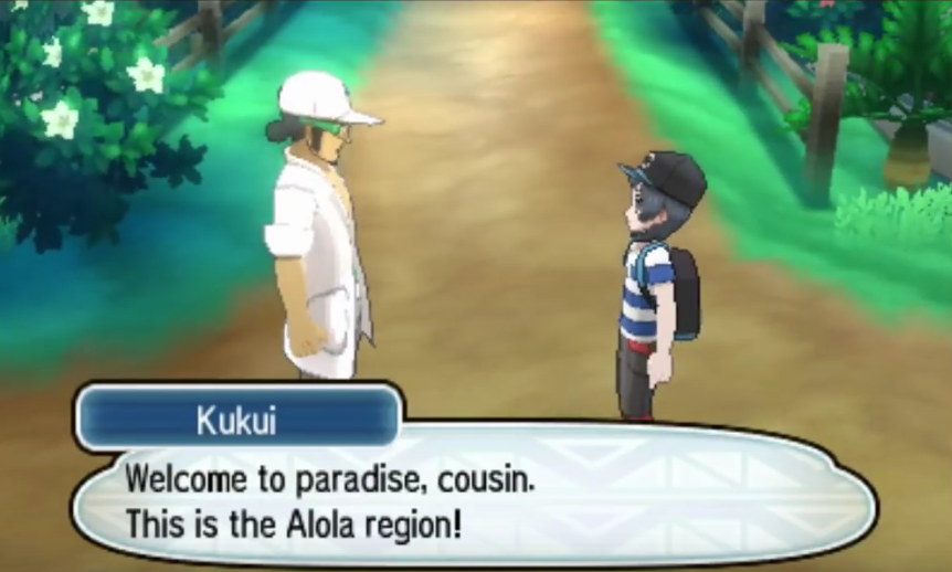 Welcome to the Alola region